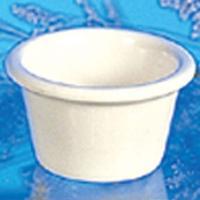 Thunder Group ML535B Ramekin 2 oz 212 Diameter Melamine Bone NSF Priced by the Dozen Sold in Case of 4 Dozen